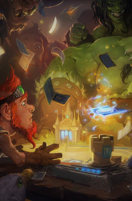 Official Hearthstone Table Art
